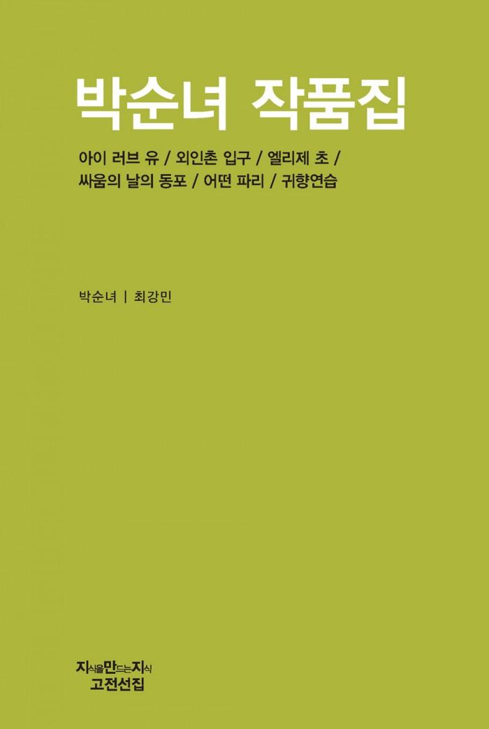 박순녀 작품집_표지_자켓